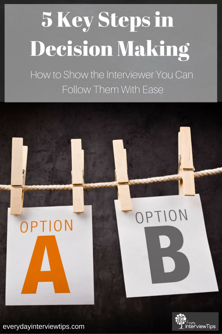 images about interview tips questions answers on see how to answer the common interview question about how you make decisions