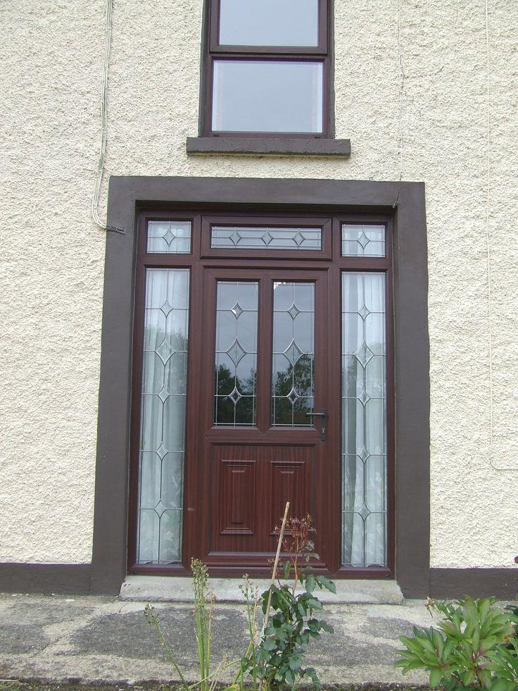 Dark Brown PVC Doors