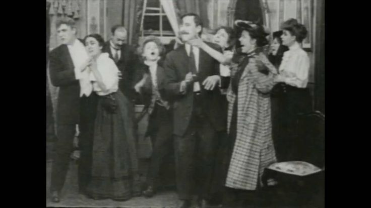Florence Lawrence in Mr. Jones Has a Card Party (1909)