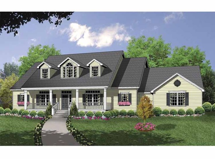 Ranch House Plan With 1919 Square Feet And 3 Bedrooms From Dream Home Source House Plan Code