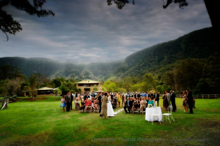Brisbane Wedding Photographer_ceremony, Christopher Thomas Photography, country location