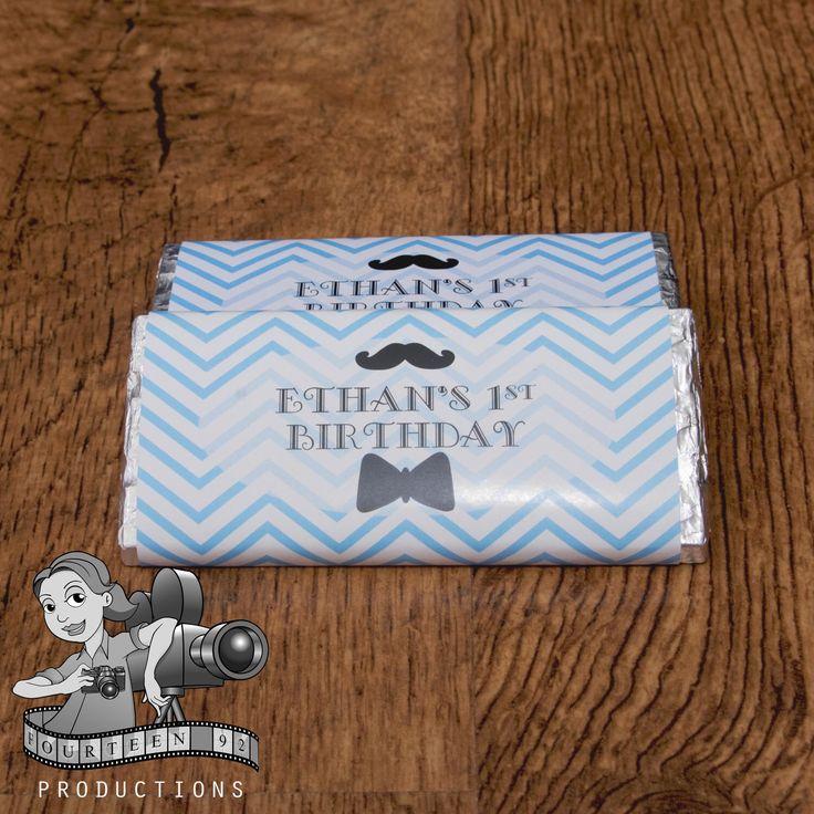 Little Man Chocolate Wrapper by fourteen92prod on Etsy https://www.etsy.com/au/listing/496383920/little-man-chocolate-wrapper