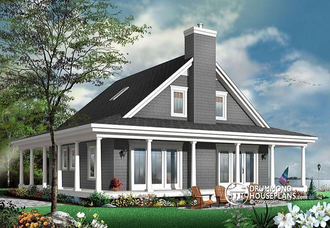 Visit Our Website To Look At The Floor Plans And Pictures Of This Home Or  To Order The Blueprints (or PDF File) And Building Material List For This  House ...