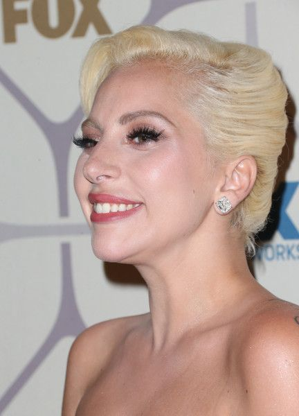 Lady Gaga French Twist - Lady Gaga glammed up her look with this classic French twist when she attended the Emmy Awards Fox after-party.