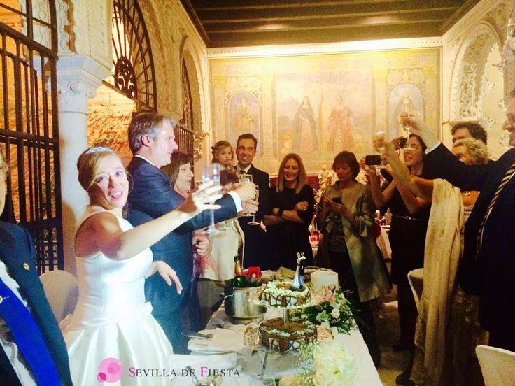#celebraciones de #bodas #Sevilla de #Fiesta