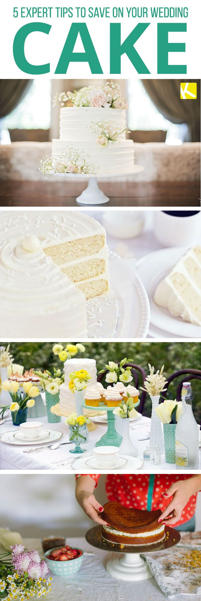 5 Expert Tips to Save on Your Wedding Cake