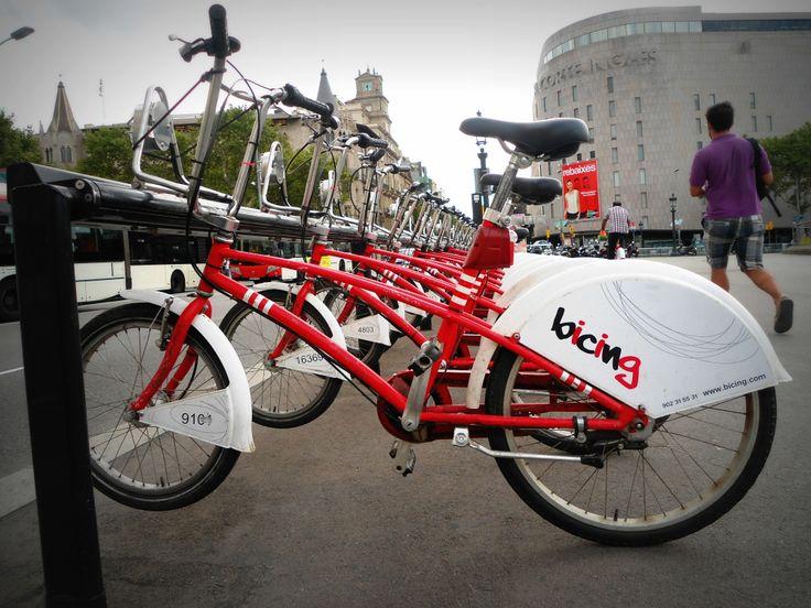Bikes in Barcelona