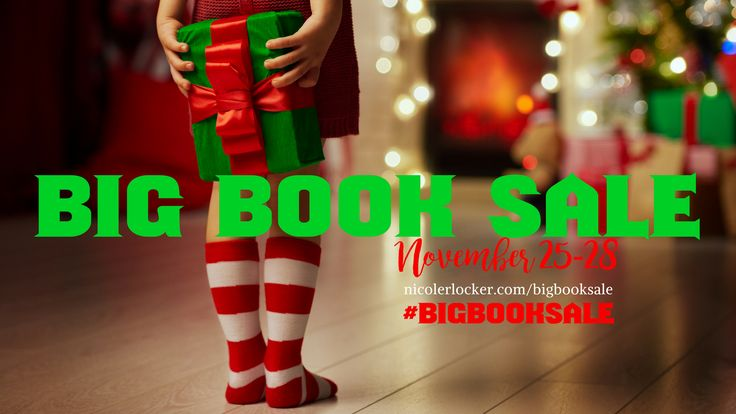 Happy Holidays, Book Fans! We have HUGE book savings for you beginning BLACK FRIDAY (November 25, 2016) all the way though CYBER MONDAY (November 28, 2016). Books of various genres areOn Sale – f…