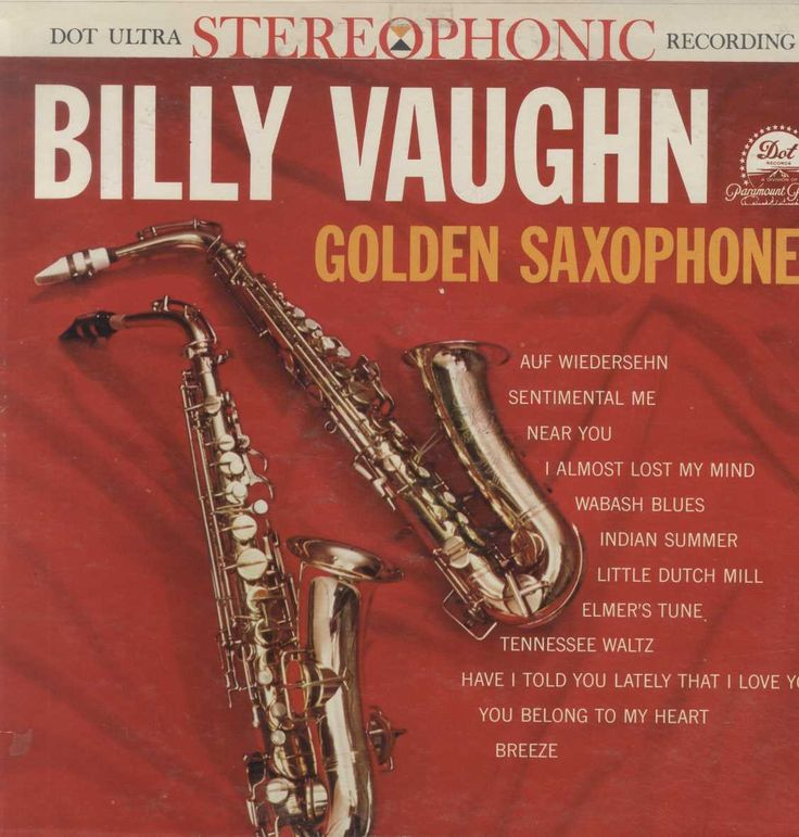 Billy Vaughn And His Orchestra - Golden Saxophones