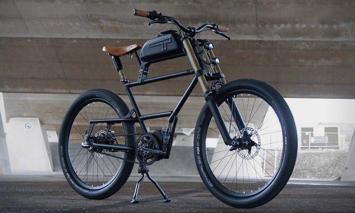 Spicytec Vehicles Electric Bicycle Bicycle Scrambler