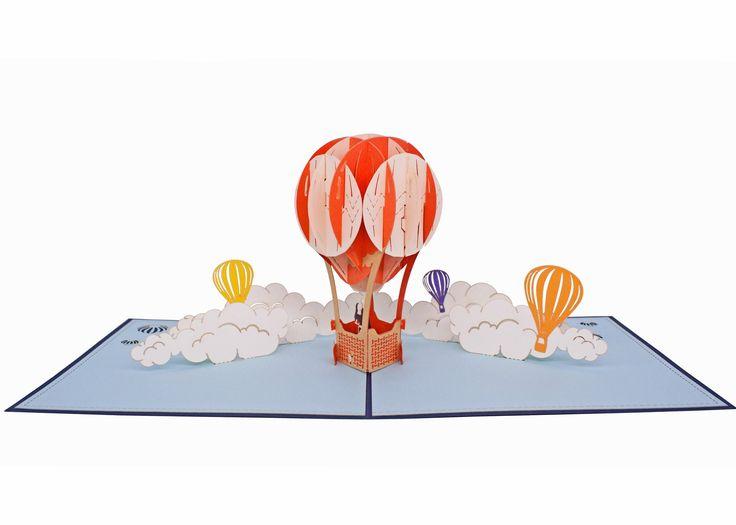AITpop Fire Balloon pop up card