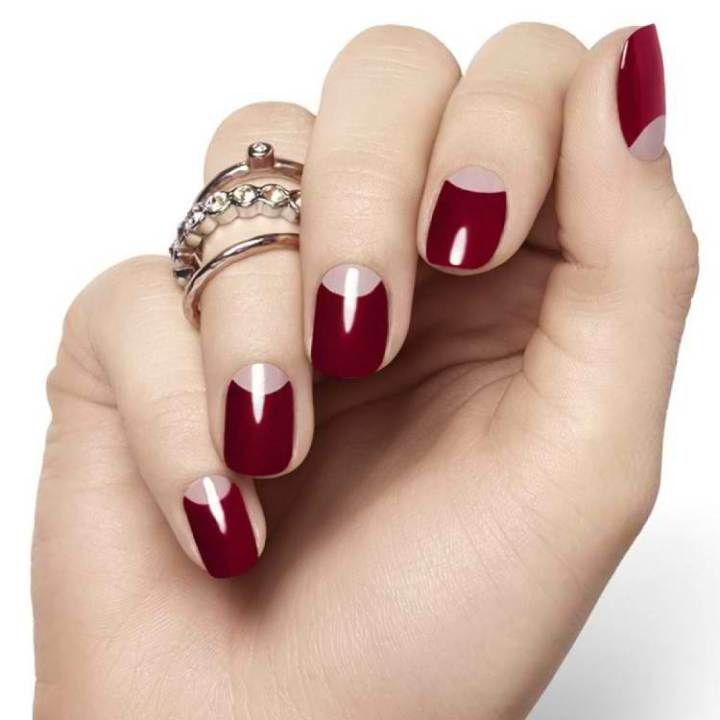 Uñas rojas elegantes , Elegant red nails