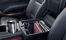 Do you work out of your car, and need a vehicle that will keep you organized?   Check out the 2015 Yukon Denali Full Size Luxury SUV at Patterson Family of Dealerships.