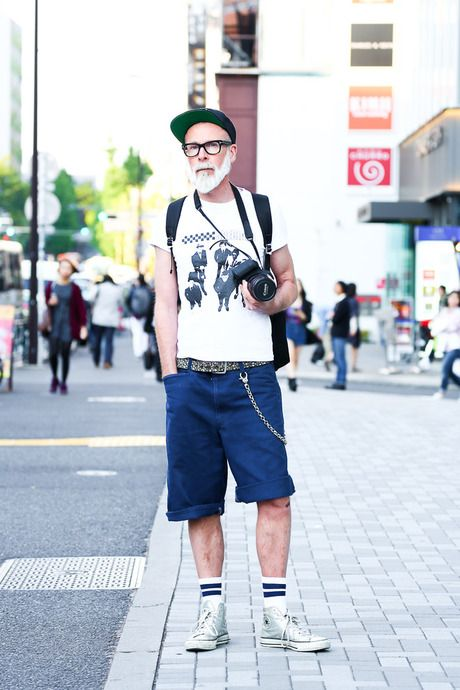 Street Snap [DAVID]   CONVERSE, Converse   Harajuku   Fashionsnap.com