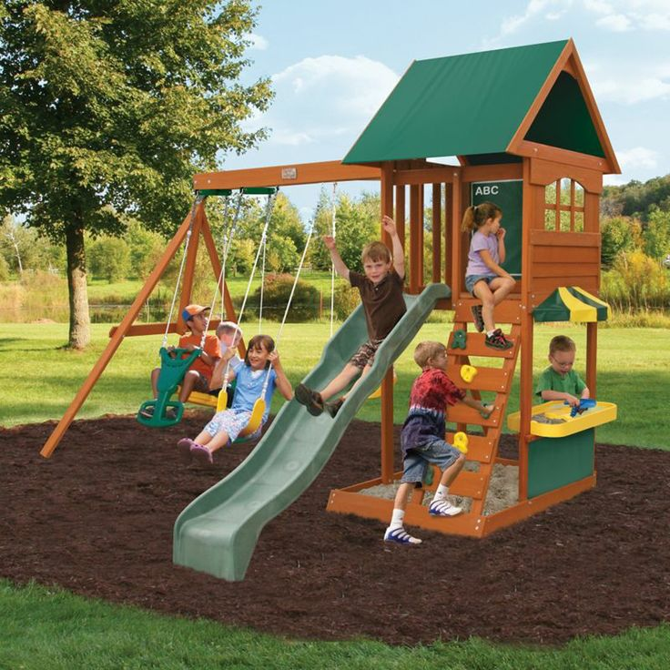Big Backyard by Solowave® 'Augusta II' Outdoor Play Centre ...