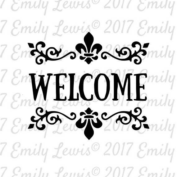 welcome sign svg - welcome svg - welcome svg file - welcome cut file - welcome svg cut - welcome signs - welcome - svg - svgs - cricut files