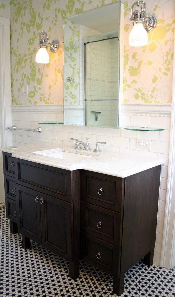 [Bathroom] : Amazing Contemporary Bathroom Design Ideas Other Interior  Furniture Bathroom Other Wallpaper Bathroom Dark Vanity Carrara Marble  Marble ... Part 73