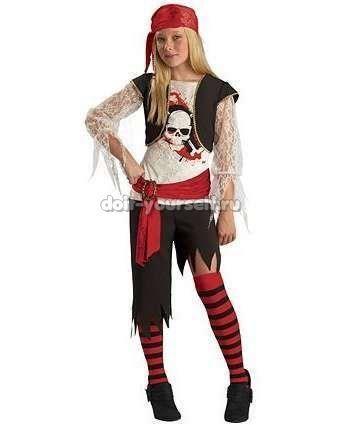 Как придумать костюм пирата для ребенка