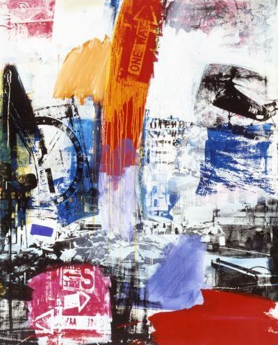 Robert Rauschenberg, Choke, 1964  www.artexperiencenyc.com