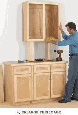 Cabinet Woodworking Plan, Cabinetmaking Shop Project Plan | WOOD Store