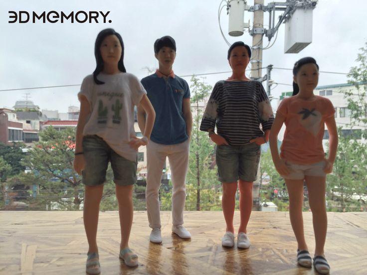 Made by 3D MEMORY Parents Art Miniature!! #3DPrinting #3DMiniauture #artminiature #3DMEMORY #3D메모리