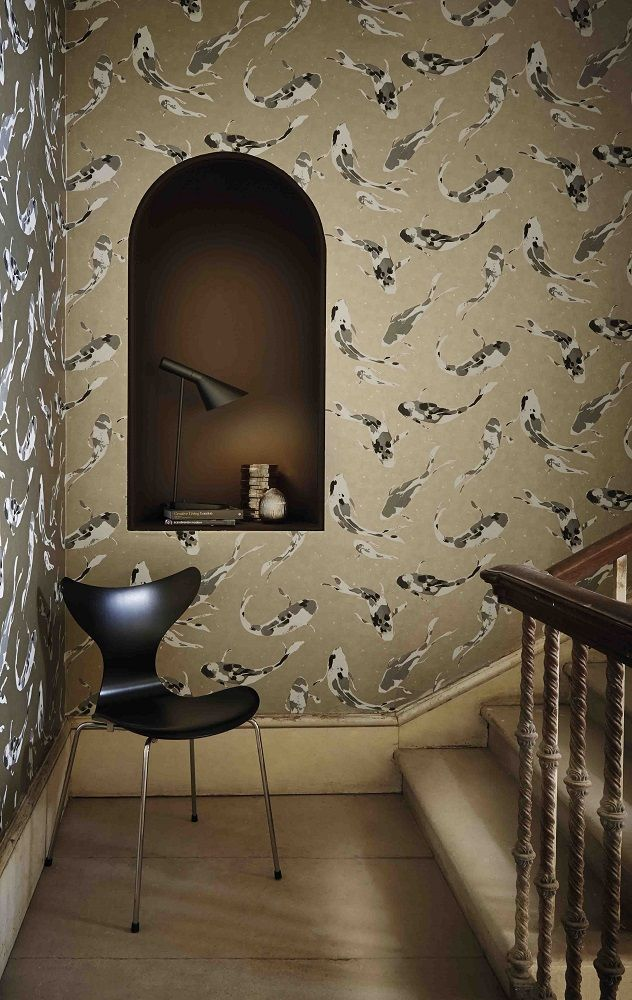 108 best images about trends animal magic on pinterest for Koi wallpaper for walls