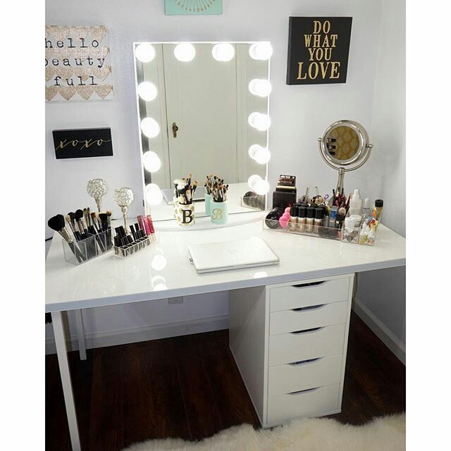 Ikea Schuhschrank Willhaben ~   makeup otto malm makeup room vanity table forward ikea malm vanity 6 3