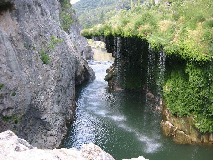 Gorges de l'Hérault. Languedoc-Roussillon