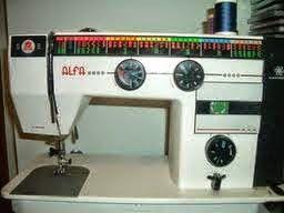 Patrón y costura : instruccciones de la máquina de coser alfa electronic mod. 3940/3945