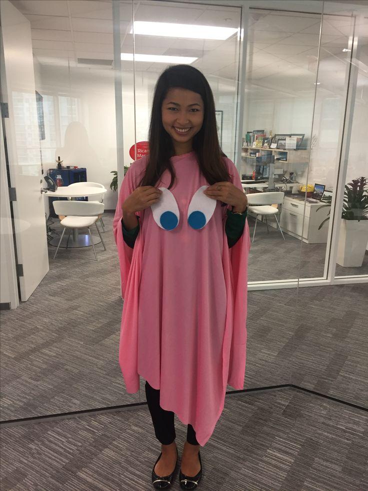 Diy Pacman ghost costume