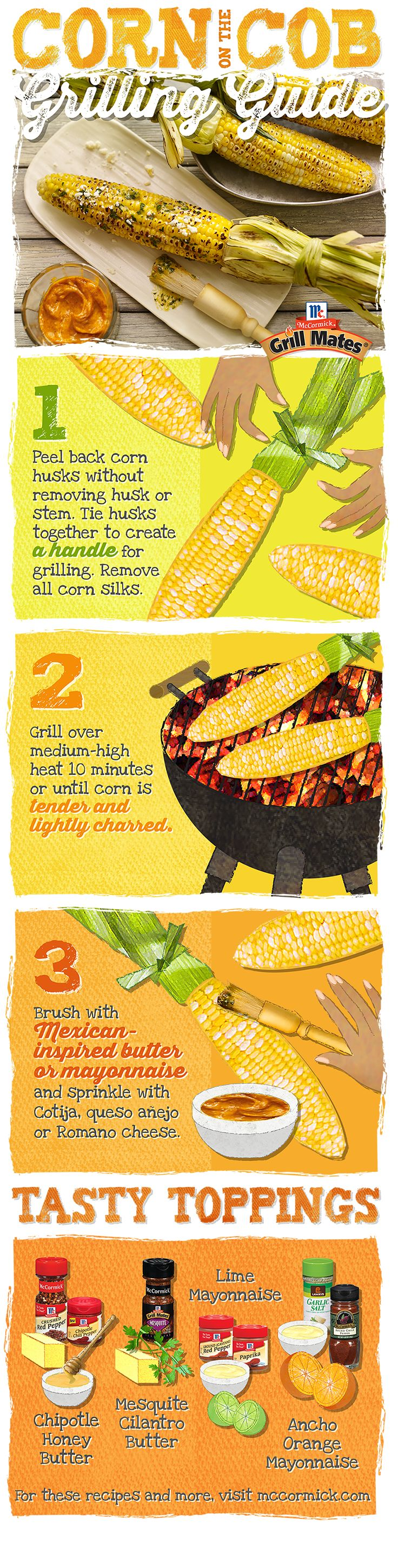 Use this handy how-to guide to make grilled corn the star side of your next BBQ.