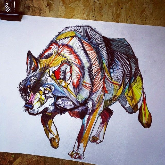 Amazing Wolf: 17 Best Images About Crosshatching Drawings On Pinterest