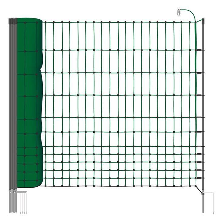 Grün NEU 50m 112cm Weidezaunnetz Elektronetz Hundezaun