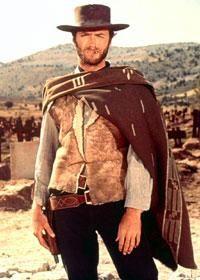 「荒野のガンマン」の時の俳優・監督 クリント・イーストウッド。