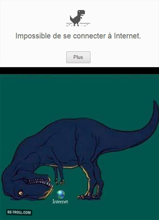 Impossible de se connecter à internet… | Be-troll