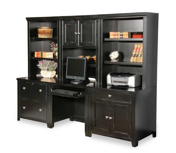 AFW OFFICE DESK OPTION | Furniture, Office walls, Black office