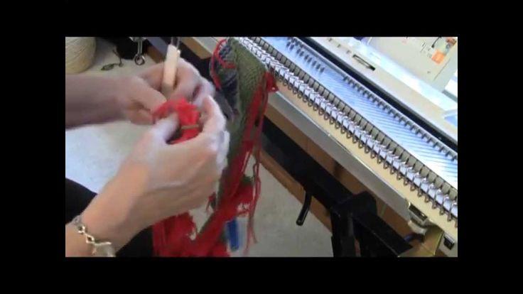 Вязание в технике Пэчворк (Энтрелак) на вязальной машине (Д.Саливан) Knit Entrelac Intro 1 of 2 by Diana Sullivan
