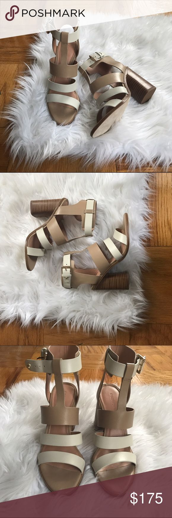 NWOT SIGERSON MORRISON Coria Leather Sandals Absolutely beautiful Coria Leather block heel sandals. Brand new, never worn, perfect condition comes in original box. Sigerson Morrison Shoes Sandals