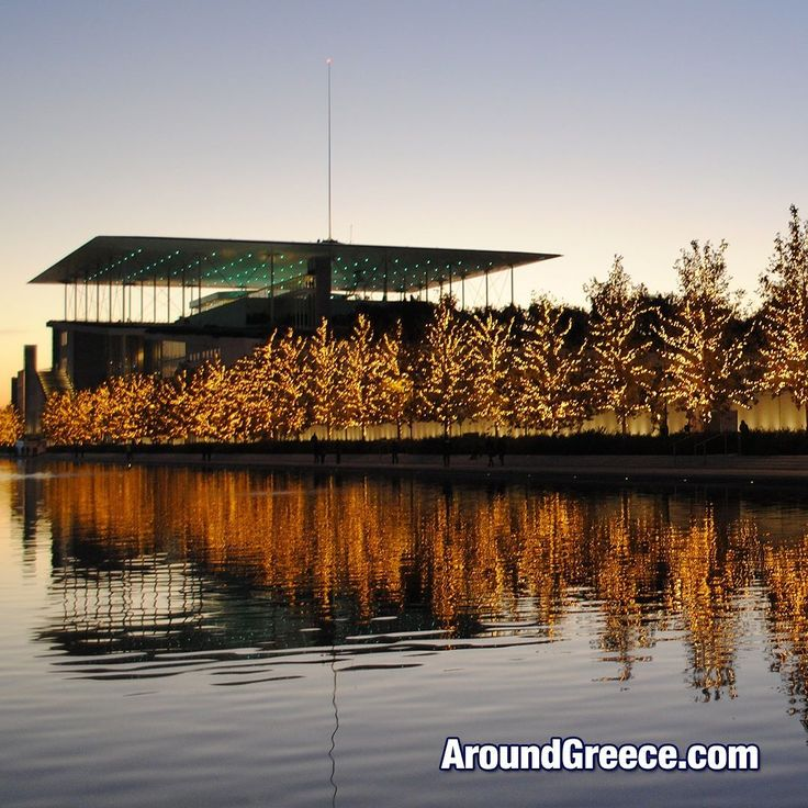 If you are out and about in Athens over the next month or so head down to the Stavros Niarchos Foundation Cultural Center which has once again been beautifully decorated for the Christmas season.  #Athens #Greece #SNFCC #Christmas