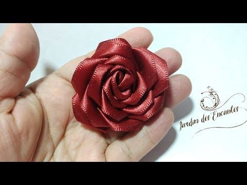 Pap Rosa Com Fita de Cetim - YouTube