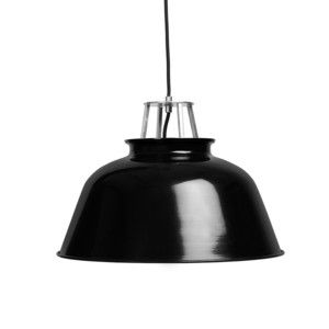Station Pendant Lamp Black, 75€, now featured on Fab.
