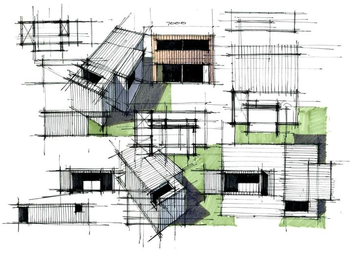 Modern Architecture Drawing 409 best sketching, rendering & architectural drawings images on