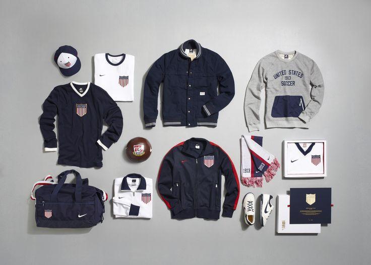 Nike Celebrates 100 Years of US Soccer