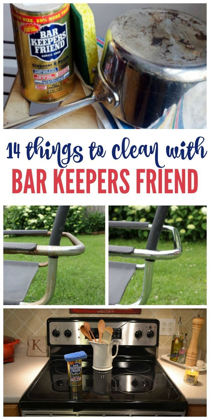 You know those few household products you can't live without… the ones that pull double or triple duty around the home? Bar Keepers Friend is one of those things. It cleans, it polishes, it brings old stuff back to life. Seriously amazing. Here are 14 Bar Keepers Friend uses and DIY tips that you need to try immediately.