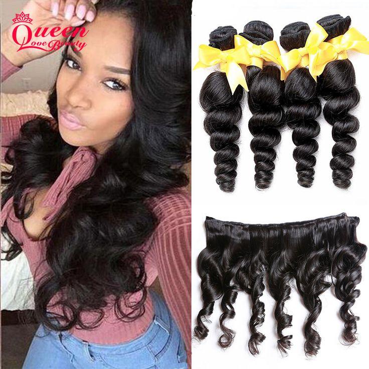 Brazylijski Dziewiczy Włosy Loose Wave 4 Zestawy 7A Nieprzetworzone Brazylijski Luźna Fala Dziewiczy Włosy Ludzkie Włosy Wyplata Virgin Hair Products