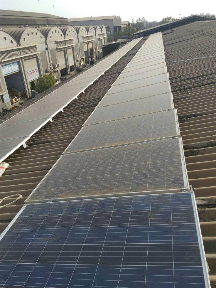 2oKW On Grid Solar power plant