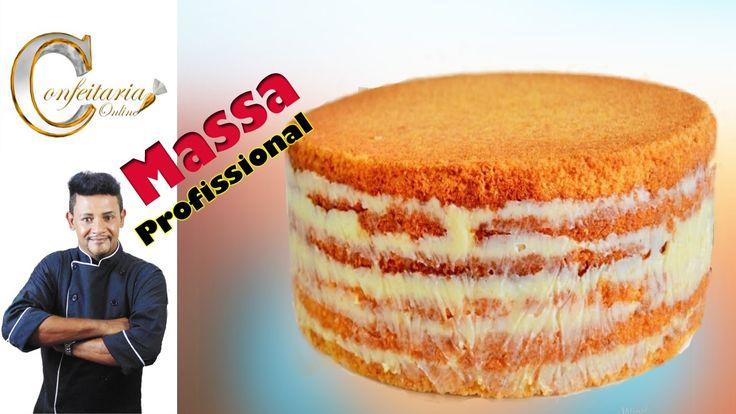 Uma deliciosa massa de bolo profissional do nosso mestre Alexandre Alarcão ideal para receber qualquer tipo de cobertura, inclusive pasta americana