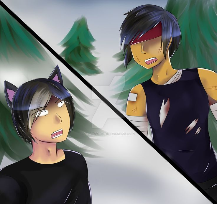 Aaron Vs Ein By Chronowither Aphmau Aphmau Memes