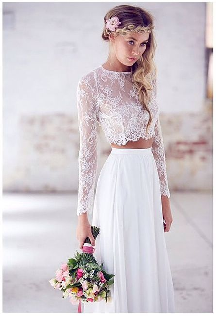 Boho Wedding Ideas and Inspiration - Boho Wedding Dresses | CHWV