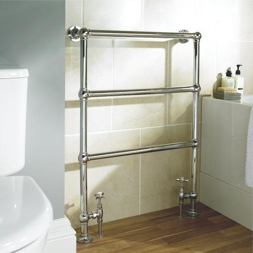 Wickes chrome towel rail sticks out too far new house inspiration pinterest towel rail Wickes bathroom design ideas
